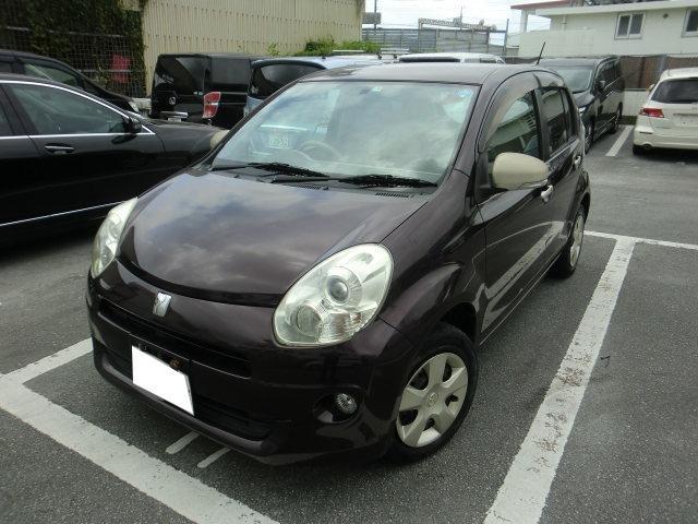 沖縄の中古車 トヨタ パッソ 車両価格 29万円 リ済別 2011(平成23)年 10.7万km ワイン