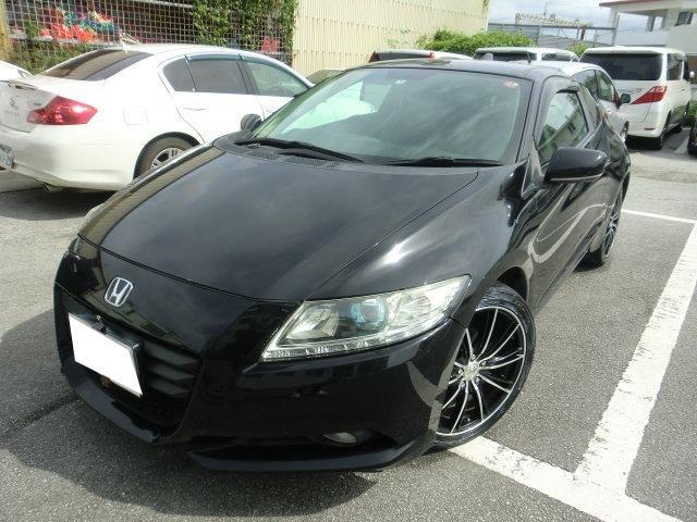 沖縄の中古車 ホンダ CR-Z 車両価格 69万円 リ済別 2010(平成22)年 12.0万km ブラック