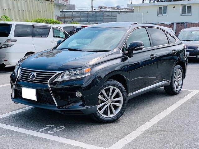 沖縄県沖縄市の中古車ならRX RX450h バージョンL