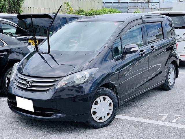 沖縄の中古車 ホンダ フリード 車両価格 35万円 リ済別 2010(平成22)年 11.9万km Dブラック