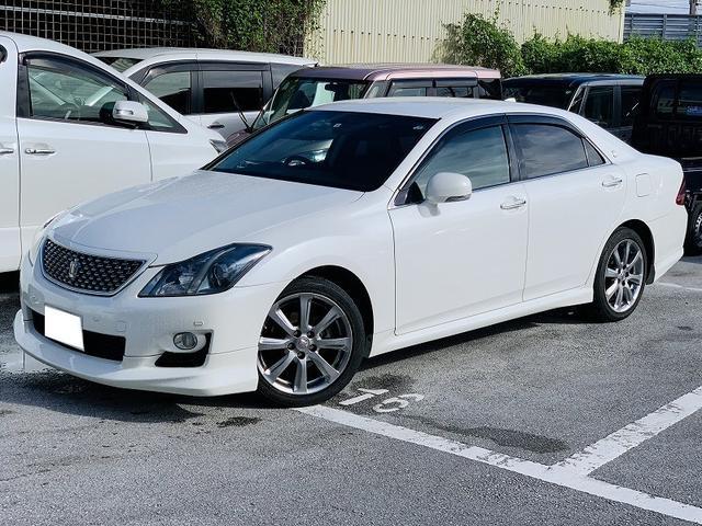 沖縄県の中古車ならクラウン 2.5アスリート ナビパッケージ