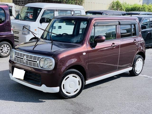 沖縄の中古車 スズキ アルトラパン 車両価格 39万円 リ済別 2011(平成23)年 11.8万km ブラウン