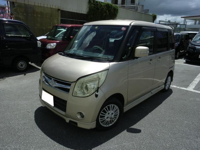 沖縄の中古車 スズキ パレット 車両価格 19万円 リ済別 2008(平成20)年 8.8万km ゴールド