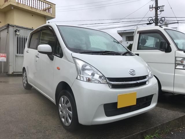 沖縄の中古車 ダイハツ ムーヴ 車両価格 49万円 リ済込 平成24年 9.0万km ホワイト