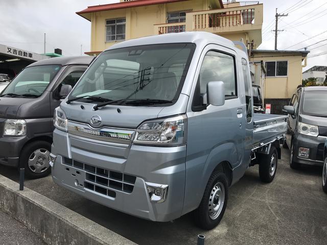 沖縄の中古車 ダイハツ ハイゼットトラック 車両価格 ASK リ未 新車  シルバー
