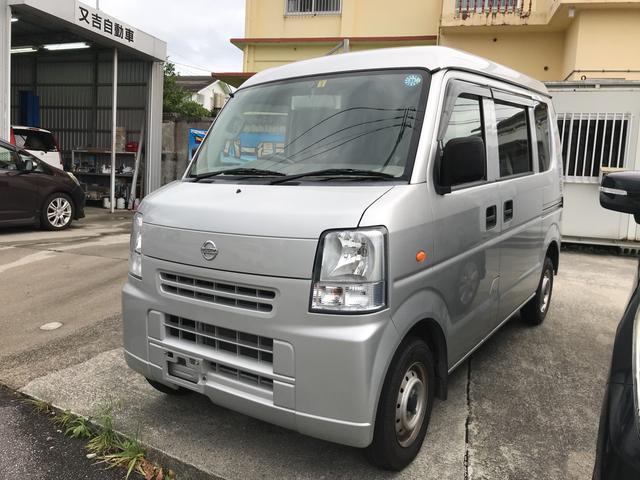 沖縄の中古車 日産 NV100クリッパーバン 車両価格 62万円 リ済込 2014(平成26)年 7.4万km シルバー