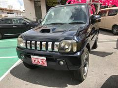 沖縄の中古車 スズキ ジムニー 車両価格 69万円 リ済別 平成20年 16.6万K ブラックM