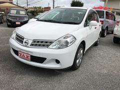 沖縄の中古車 日産 ティーダラティオ 車両価格 49万円 リ済込 平成21年 4.3万K ホワイト