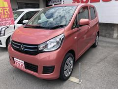 沖縄の中古車 三菱 eKワゴン 車両価格 112万円 リ済込 平成30年 4K ピンクM