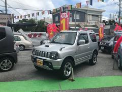 沖縄の中古車 スズキ ジムニー 車両価格 59万円 リ済込 平成15年 9.4万K シルバーM