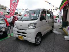 沖縄の中古車 ダイハツ ハイゼットカーゴ 車両価格 55万円 リ済込 平成23年 7.6万K ホワイト