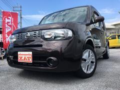 沖縄の中古車 日産 キューブ 車両価格 ASK リ済込 平成24年 6.3万K Dブラウン