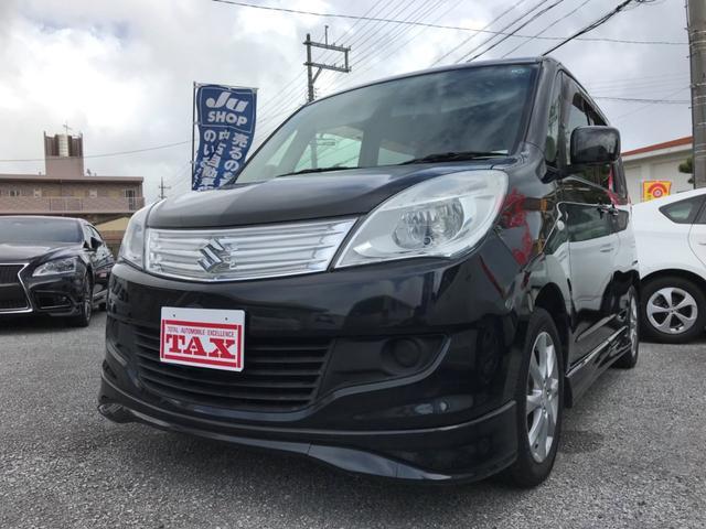 沖縄の中古車 スズキ ソリオ 車両価格 78万円 リ済込 平成25年 6.1万km ブラック