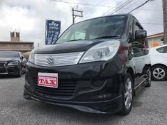 沖縄の中古車 スズキ ソリオ 車両価格 75万円 リ済込 平成25年 6.1万K ブラック