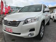 沖縄の中古車 トヨタ ヴァンガード 車両価格 119万円 リ済込 平成21年 7.4万K パールホワイト