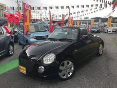 沖縄の中古車 ダイハツ コペン 車両価格 84万円 リ済込 平成18年 3.5万K ブラック