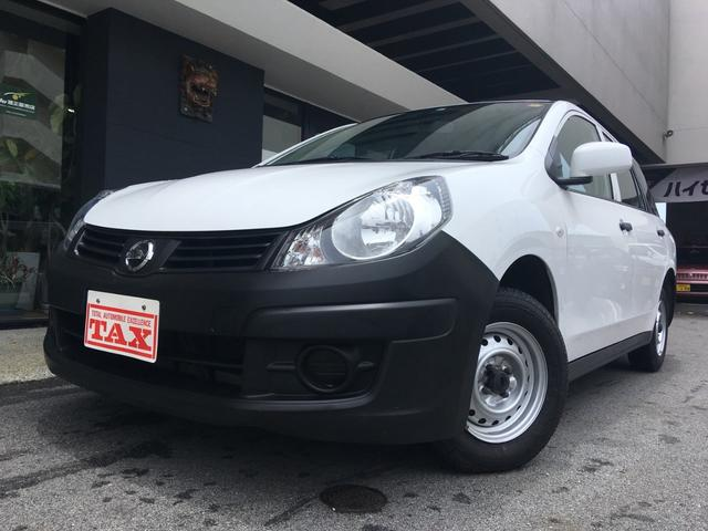 沖縄の中古車 日産 AD 車両価格 65万円 リ済込 平成24年 4.0万km ホワイト