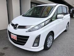 沖縄の中古車 マツダ ビアンテ 車両価格 ASK リ済込 平成23年 5.0万K パールホワイト