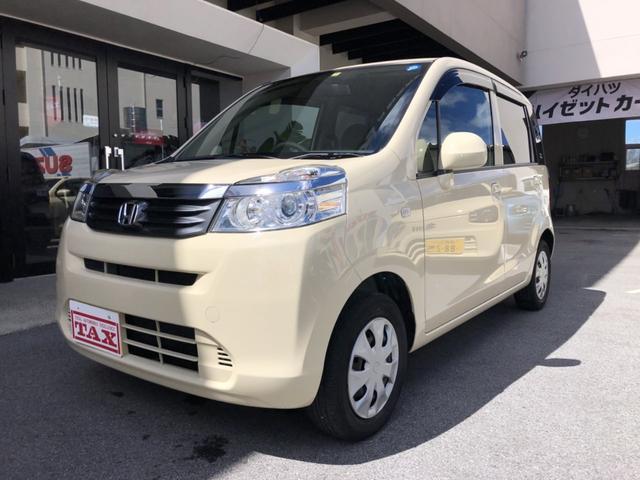 沖縄の中古車 ホンダ ライフ 車両価格 45万円 リ済込 平成23年 9.5万km ベージュ