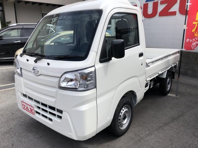 沖縄の中古車 ダイハツ ハイゼットトラック 車両価格 92万円 リ済込 平成30年 6km ホワイト