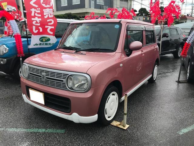 沖縄の中古車 スズキ アルトラパン 車両価格 49万円 リ済込 2011(平成23)年 10.3万km ピンク