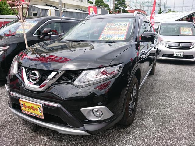 沖縄の中古車 日産 エクストレイル 車両価格 188万円 リ済込 2014(平成26)年 7.6万km ブラック