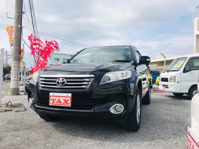 沖縄の中古車 トヨタ ヴァンガード 車両価格 110万円 リ済込 平成21年 8.1万km ブラック
