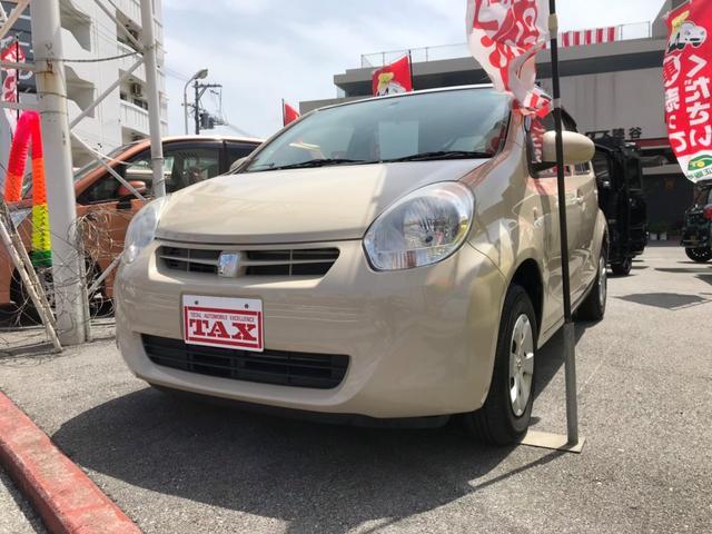 沖縄の中古車 トヨタ パッソ 車両価格 69万円 リ済込 平成25年 5.0万km ベージュ
