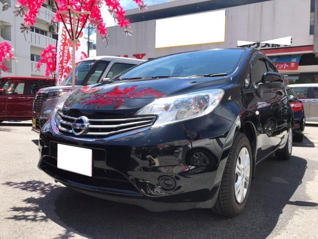 沖縄の中古車 日産 ノート 車両価格 65万円 リ済別 2013(平成25)年 5.4万km ブラック