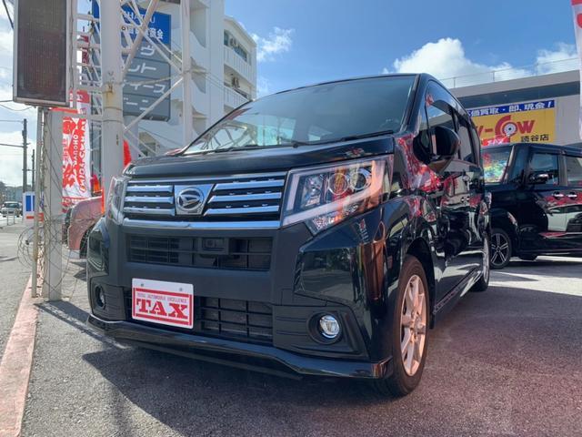 沖縄の中古車 ダイハツ ムーヴ 車両価格 108万円 リ済別 2016(平成28)年 6.8万km ブラック