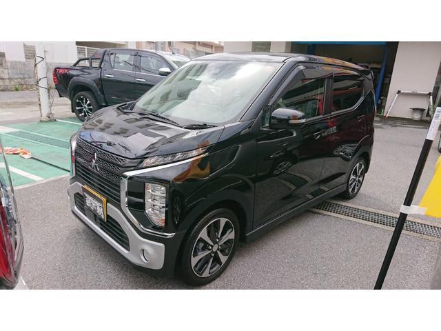 沖縄の中古車 三菱 eKクロス 車両価格 155万円 リ済込 2019(令和1)年 11km ブラックマイカ
