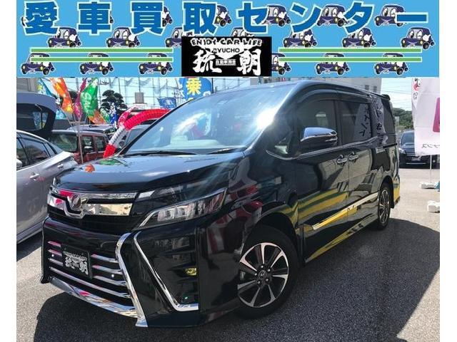沖縄の中古車 トヨタ ヴォクシー 車両価格 269万円 リ済込 2017(平成29)年 1.3万km ブラック