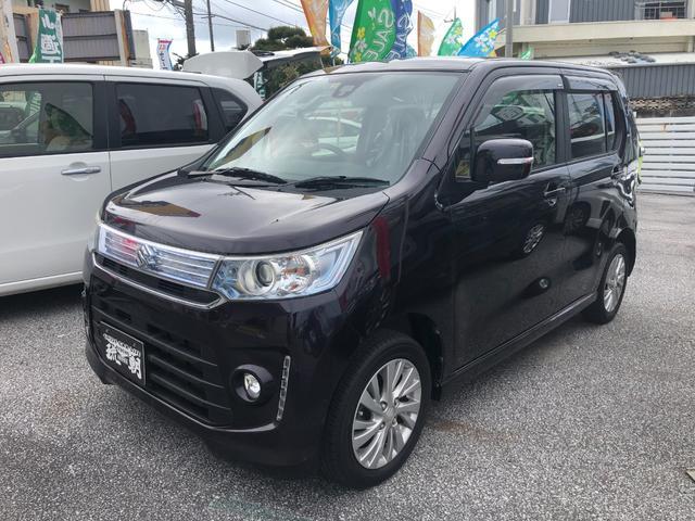 沖縄の中古車 スズキ ワゴンRスティングレー 車両価格 79万円 リ済込 2015(平成27)年 7.1万km パープル