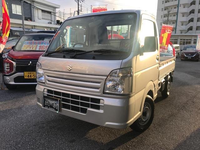 沖縄県の中古車ならキャリイトラック KCエアコン・パワステ 届出済み!!未使用車! 長期メーカー保証付き!