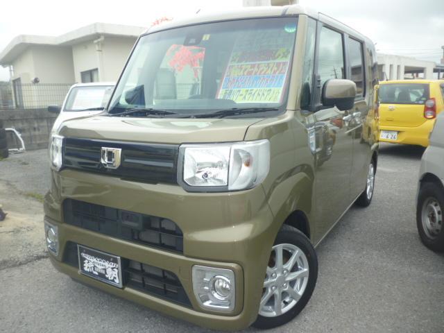 沖縄の中古車 ダイハツ ウェイク 車両価格 119万円 リ済込 2017(平成29)年 6.4万km グリーン