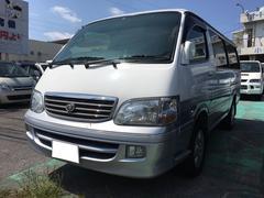 沖縄の中古車 トヨタ ハイエースワゴン 車両価格 79万円 リ済別 平成10年 18.7万K ホワイトII