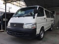 沖縄の中古車 トヨタ ハイエースワゴン 車両価格 65万円 リ済別 平成13年 18.3万K ホワイト