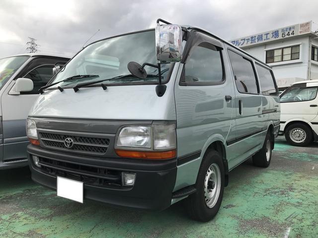 沖縄県の中古車ならハイエースバン ロングDX GLパッケージ 5ドア 6人乗り