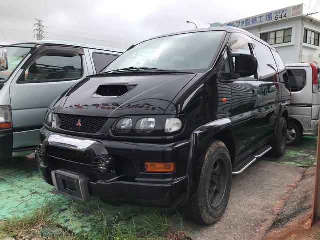 沖縄県の中古車ならデリカスペースギア ジャスパー 社外アルミ ディーゼル