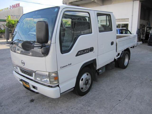 沖縄の中古車 日産 アトラストラック 車両価格 108万円 リ済込 2004(平成16)年 11.5万km ホワイト