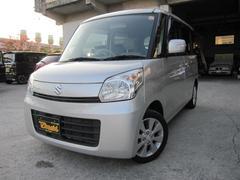 沖縄の中古車 スズキ スペーシア 車両価格 78万円 リ済込 平成25年 8.8万K シルキーシルバーメタリック