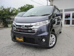 沖縄の中古車 日産 デイズ 車両価格 74万円 リ済込 平成25年 7.6万K プレミアムパープルパール