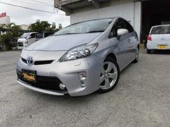 沖縄の中古車 トヨタ プリウス 車両価格 118万円 リ済込 平成24年 8.0万K ライトパープル