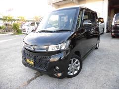 沖縄の中古車 スズキ パレットSW 車両価格 74万円 リ済込 平成24年 8.2万K ブラックM
