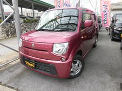 沖縄の中古車 スズキ MRワゴン 車両価格 58万円 リ済込 平成25年 8.1万K ピンクM