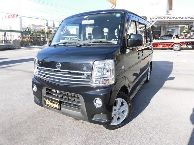 沖縄の中古車 日産 NV100クリッパーリオ 車両価格 108万円 リ済込 平成27年 6.4万km ブルーイッシュブラックP