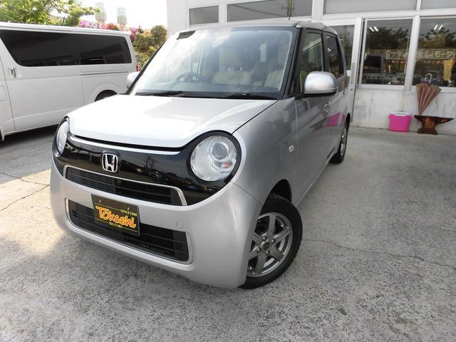 沖縄の中古車 ホンダ N-ONE 車両価格 64万円 リ済込 2016(平成28)年 7.8万km カトラリーシルバーメタリックII