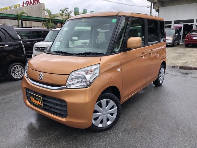 沖縄県の中古車ならスペーシア X Sエネチャージ パワースライドドア メモリーナビ・フルセグTV