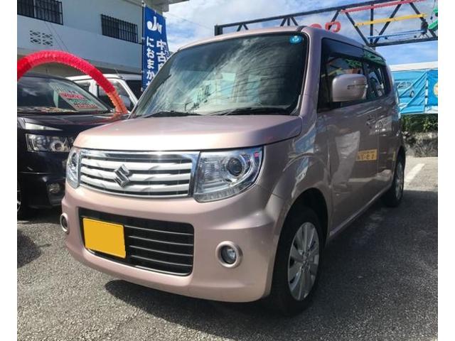 沖縄の中古車 スズキ MRワゴンWit 車両価格 74万円 リ済込 平成25年 1.9万km ピンク