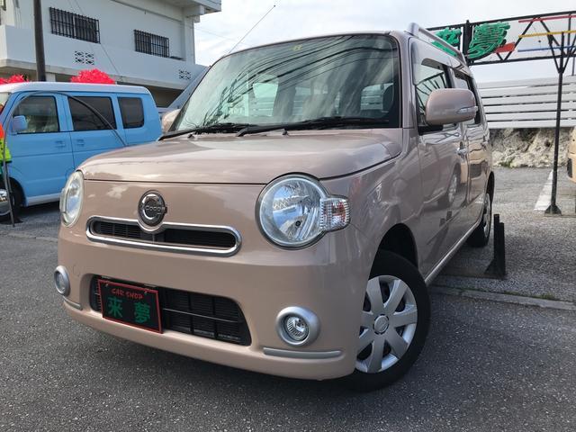 沖縄県の中古車ならミラココア ココアプラスX ナビ DVD スマートキー